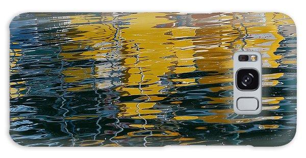 Marina Water Abstract 2 Galaxy Case by Fraida Gutovich