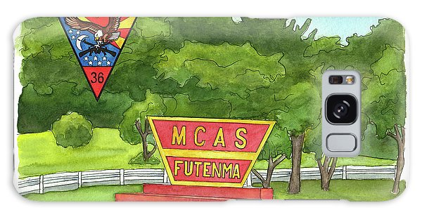 Marine Aircraft Group At Mcas Futenma Galaxy Case