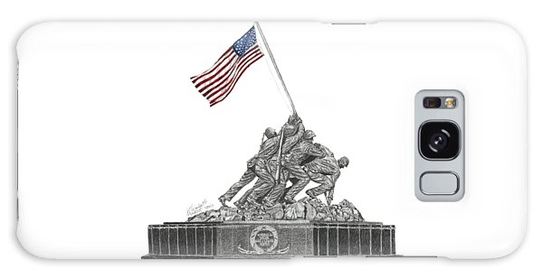 Marine Corps War Memorial - Iwo Jima Galaxy Case