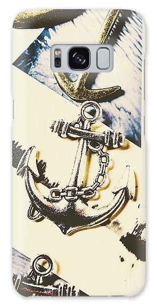 Shipping Galaxy Case - Marine Insignia by Jorgo Photography - Wall Art Gallery