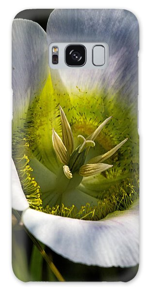 Mariposa Lily Galaxy Case by Alana Thrower