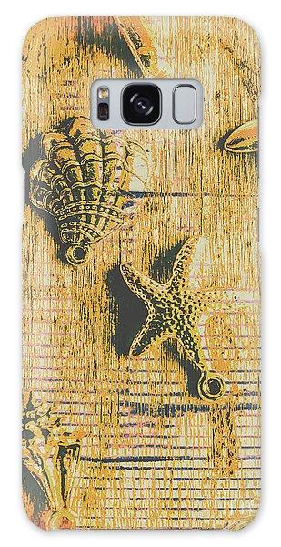 Jewels Galaxy Case - Maritime Sea Scroll by Jorgo Photography - Wall Art Gallery