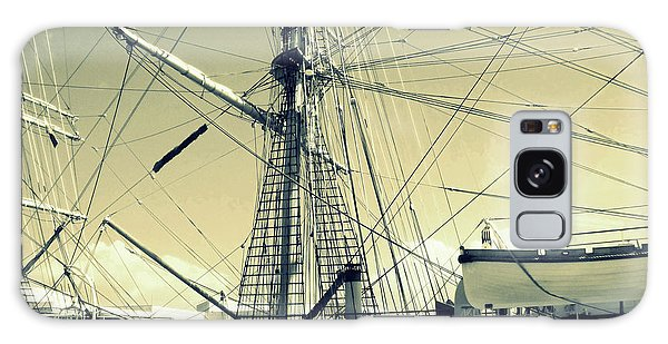 Maritime Spiderweb Galaxy Case