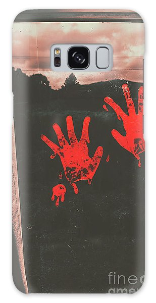 Zombies Galaxy Case - Mark Of Murder by Jorgo Photography - Wall Art Gallery