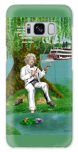 Mark Twain On The Mississippi Galaxy Case