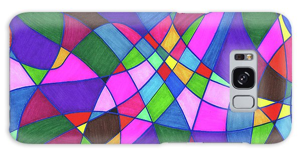 Marker Mosaic Galaxy Case