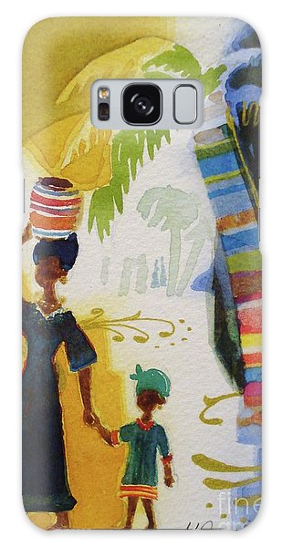 Market Day Galaxy Case by Marilyn Jacobson