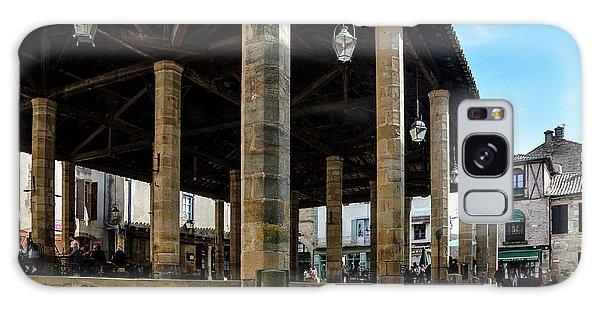 Market Hall Of Cordes-sur-ciel Galaxy Case by RicardMN Photography