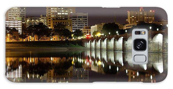 Market Street Bridge Reflections Galaxy Case