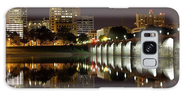 Market Street Bridge Reflections Galaxy Case