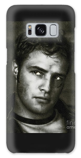 Marlon Brando - Painting Galaxy Case