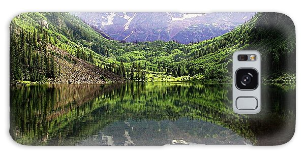 Maroon Bells  Galaxy Case by Jerry Battle