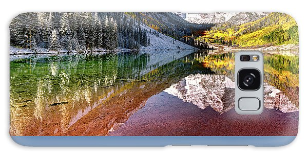Maroon Bells At Dawn Galaxy Case