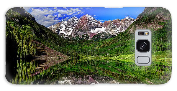 Maroon Bells Reflections Galaxy Case