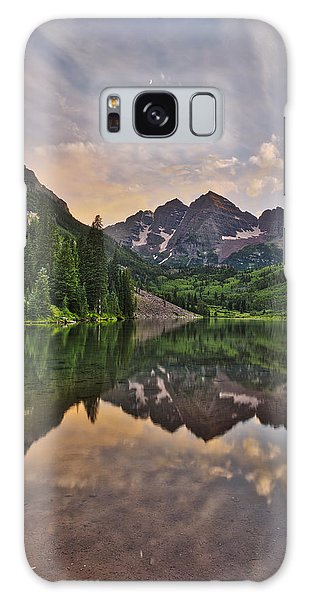 Maroon Bells Sunset - Aspen - Colorado Galaxy Case