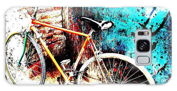 Marrakech Funky Bike  Galaxy Case by Funkpix Photo Hunter