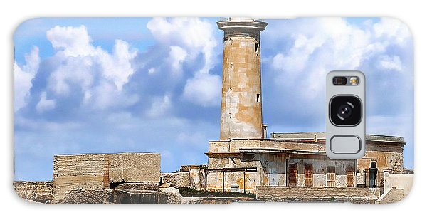 Marsala Lighthouse Galaxy Case