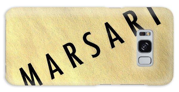 Marsari Gold Galaxy Case