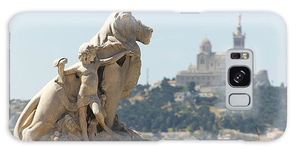 Marseille-saint-charles Statue, France Galaxy Case
