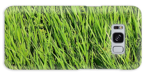 Marsh Grasses Galaxy Case