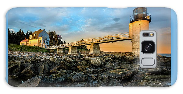 Galaxy Case featuring the photograph Marshall Point Light Aglow by Expressive Landscapes Fine Art Photography by Thom