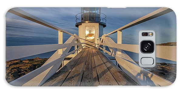 Marshall Point Lighthouse At Sunrise Galaxy Case