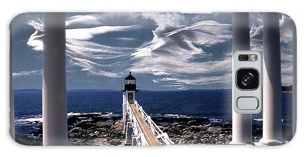 Marshall Point Lighthouse Maine Galaxy Case