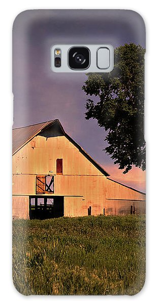 Marshall's Farm Galaxy Case by Lana Trussell