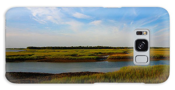 Marshland Charleston South Carolina Galaxy Case