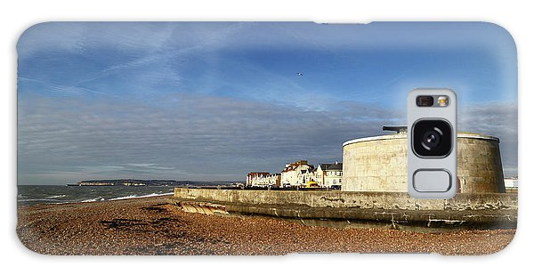 Desert View Tower Galaxy Case - Martello Tower At Seaford Sussex by James Brunker