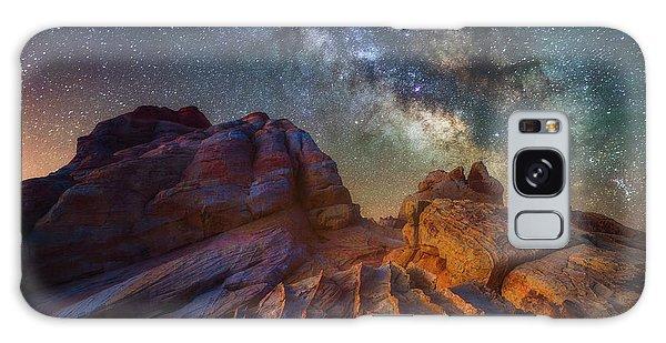 Martian Landscape Galaxy Case