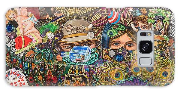 Martigras Masquerade Galaxy Case by Bonnie Siracusa