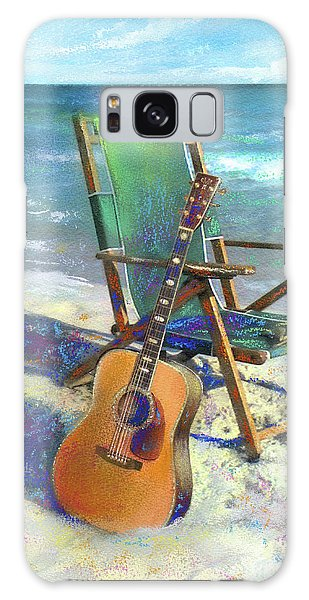 Guitar Galaxy Case - Martin Goes To The Beach by Andrew King