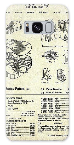 Martin Guitar Patent Art Galaxy Case