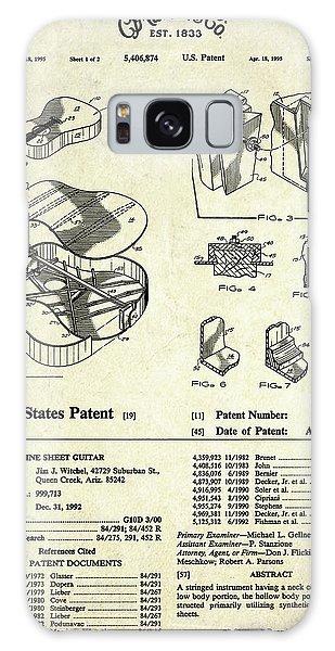 Patent Galaxy Case - Martin Guitar Patent Art by Gary Bodnar