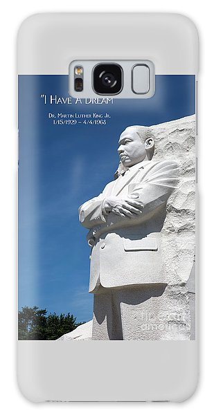 Martin Luther King Jr. Monument Galaxy Case