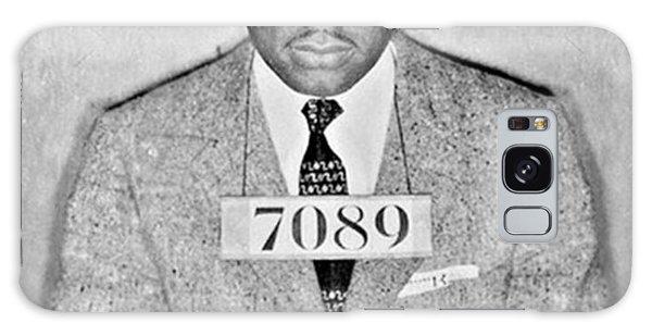Martin Luther Galaxy Case - Martin Luther King Jr Mug Shot by Tony Rubino