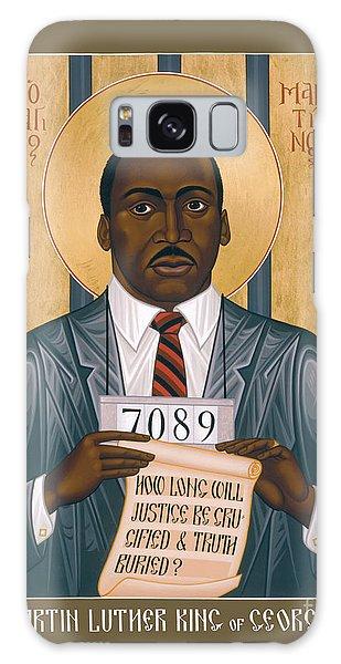 Martin Luther King Of Georgia  - Rlmlk Galaxy Case