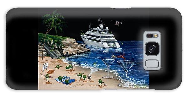Helicopter Galaxy Case - Martini Cove La Jolla by Michael Godard