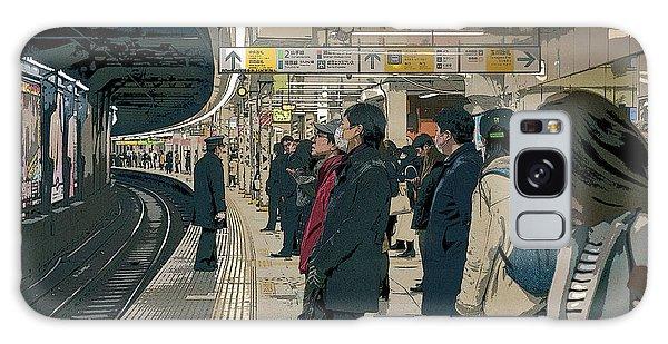 Marunouchi Line, Tokyo Metro Japan Poster 2 Galaxy Case