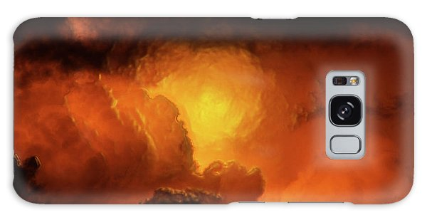 Marvelous Clouds Galaxy Case