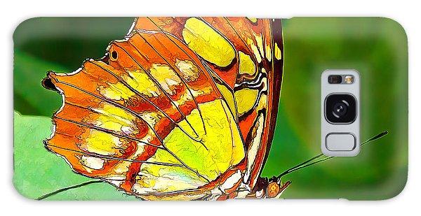 Marvelous Malachite Butterfly Galaxy Case