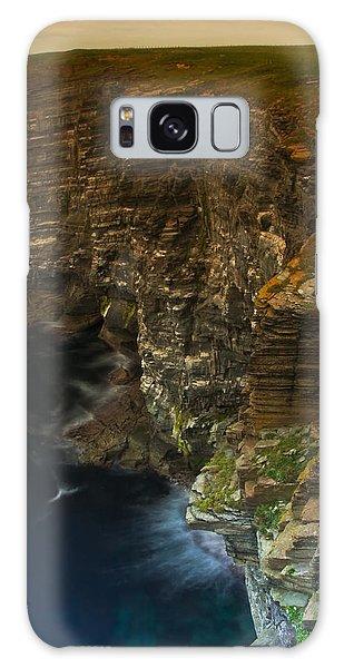 Marwick Head Orkney Scotland Galaxy Case by Gabor Pozsgai