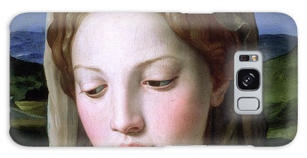 Religious Galaxy Case - Mary by Agnolo Bronzino