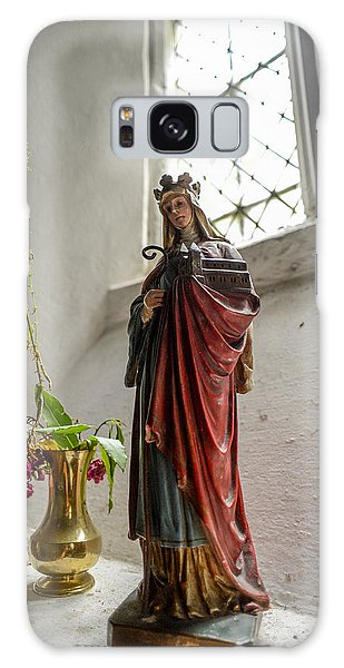 Our Blessed Lady At St Margaret Of Antioch Galaxy Case