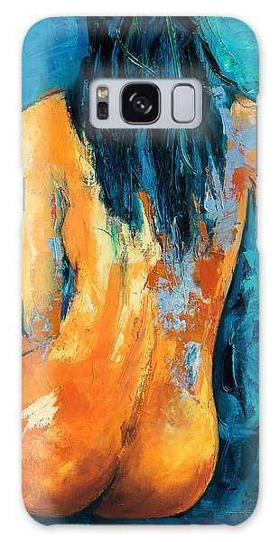 Woman Galaxy Case - Mary Lou by Elise Palmigiani