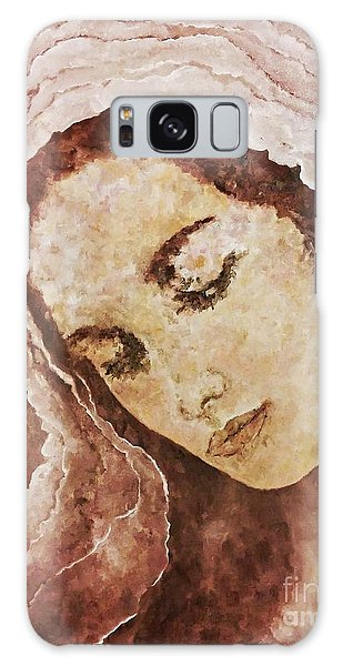 Mary Mother Of Jesus Galaxy Case