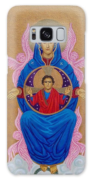 Mary Mother Of Mercy Icon - Jubilee Year Of Mercy Galaxy Case