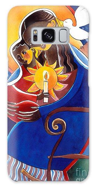 Mary, Seat Of Wisdom - Mmwis Galaxy Case