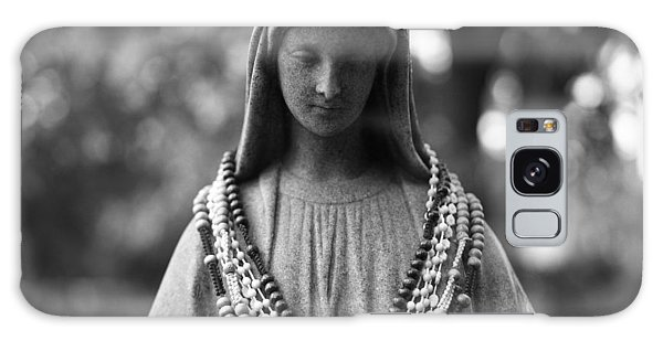 Mary With Rosaries Galaxy Case